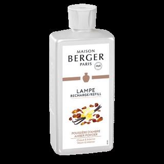 Parfum Poussière d'ambre Lampe Berger 500 ml