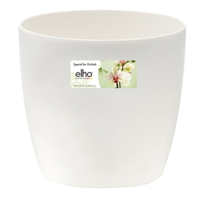 Cache pot 13cm Brussel Orchidées Elho D13 x H11cm