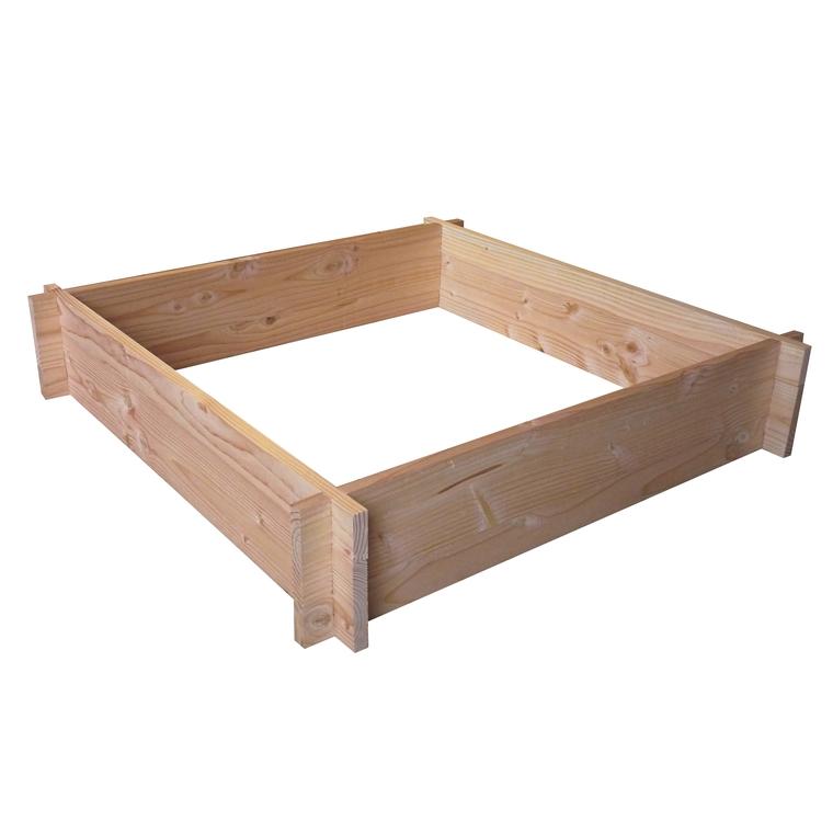 Potager carré 90 cm kit douglas 100 L