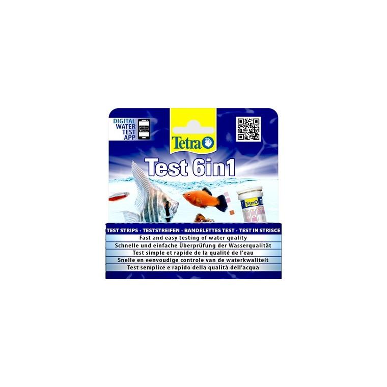 Bandelettes de test Tetra Test 6en1 428867