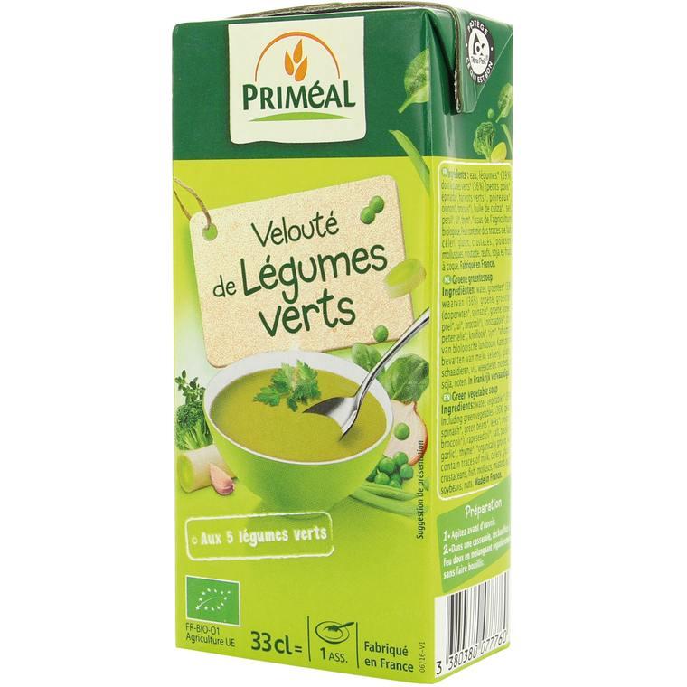Velouté de légumes verts - 33 cl 405658