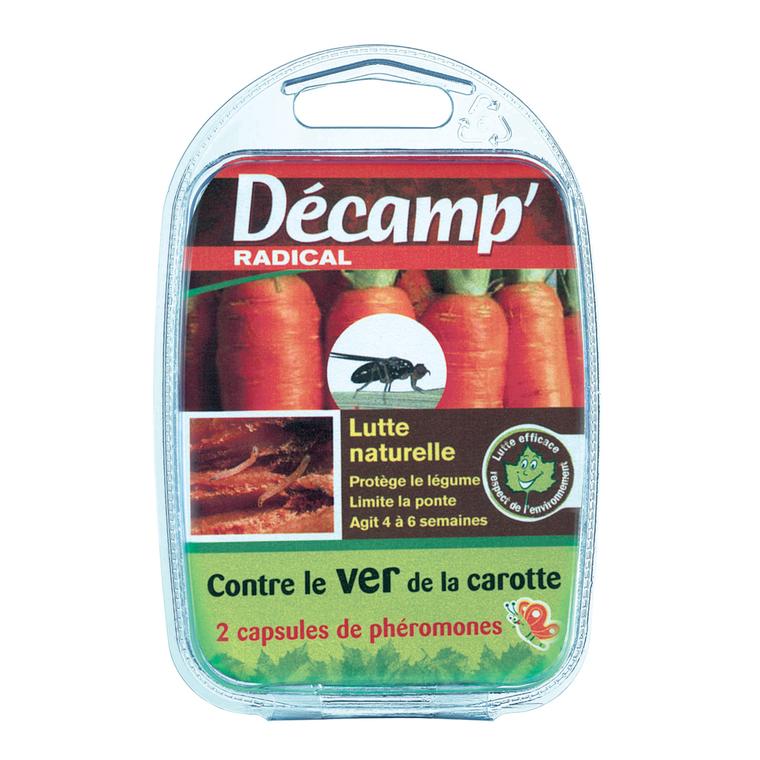 Phéromone traitement biologique contre le ver de la carotte x2 40623