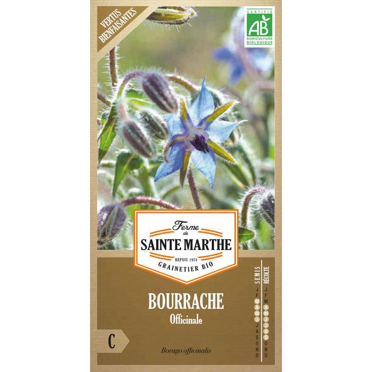 Graines de Bourrache officinale en sachet 406620