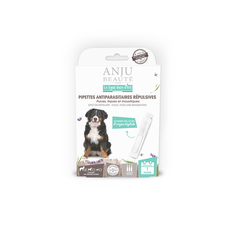 Pipette insectifuge pour grand chien x 3 407141