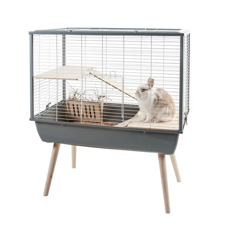 Cage Neo Muki Gris 77.5x47.5x58 cm 408123