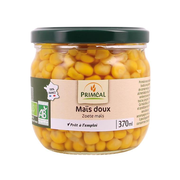 Maïs doux bio de France en pot de 370 ml 408470