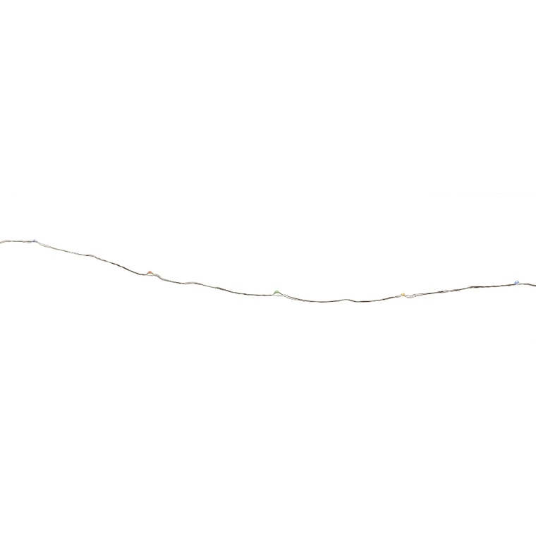 Guirlande à micro LED multicolore de 3 V 4 m 410464