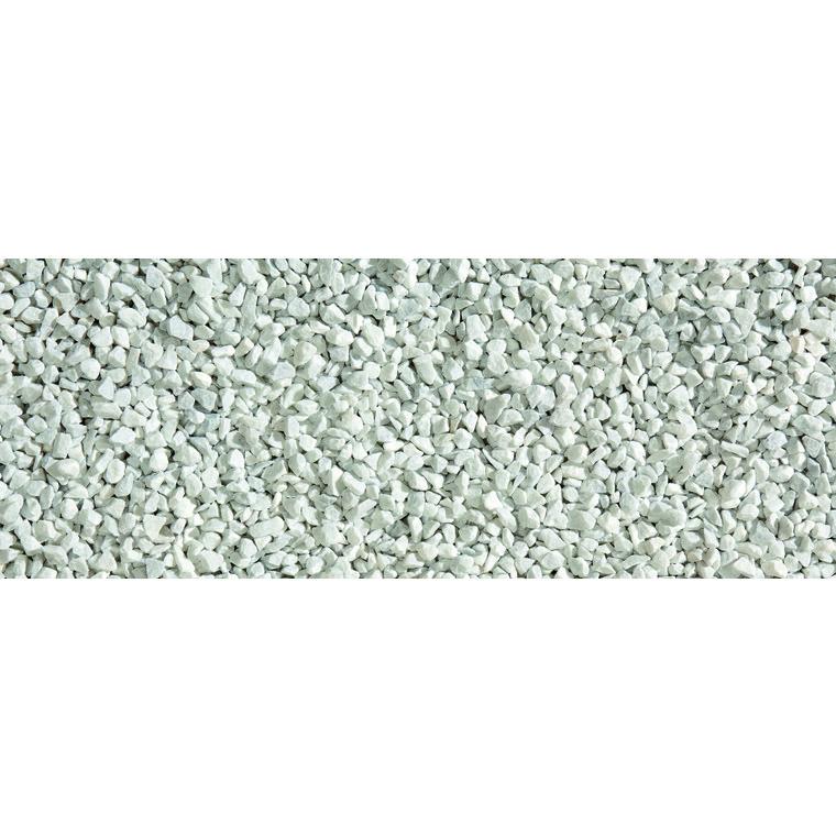Graviers de marbre de Carrare blanc calibre 8 à 12 mm en sac de 20 kg 415872