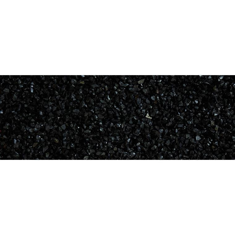 Graviers de marbre noir ébène calibre 8 à 12 mm en sac de 20 kg 415874