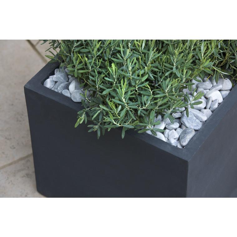 Graviers décoratifs de marbre gris glacier 7 à 15 mm en sac de 10 kg 415886