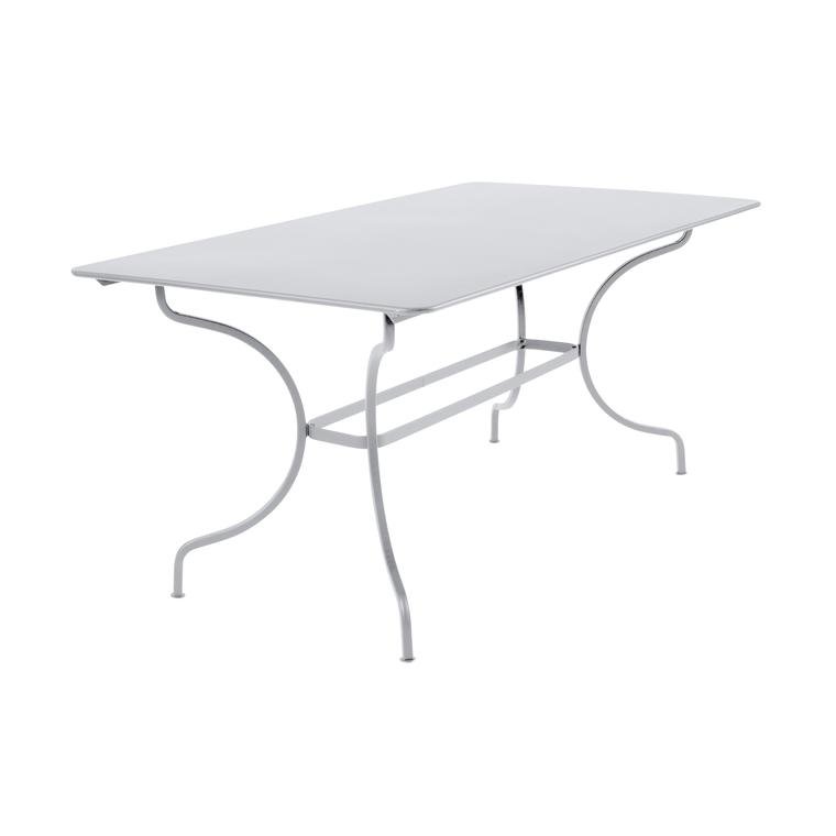 Table de jardin Manosque FERMOB Blanc coton L160xl90xh74 417611