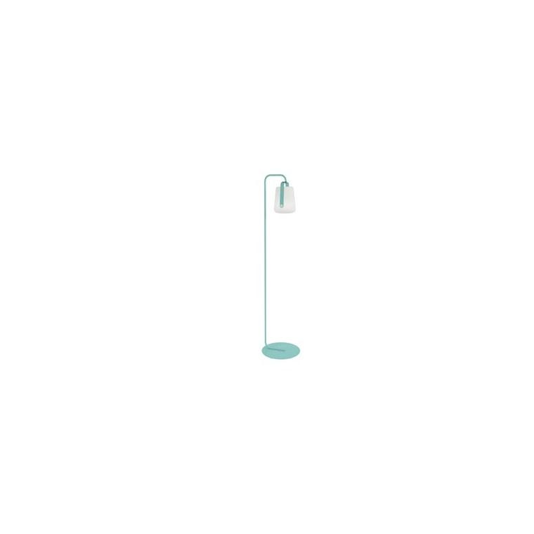 Pied simple bleu lagune pour lampe Balad Fermob Ø 35 x h 157 cm 418082