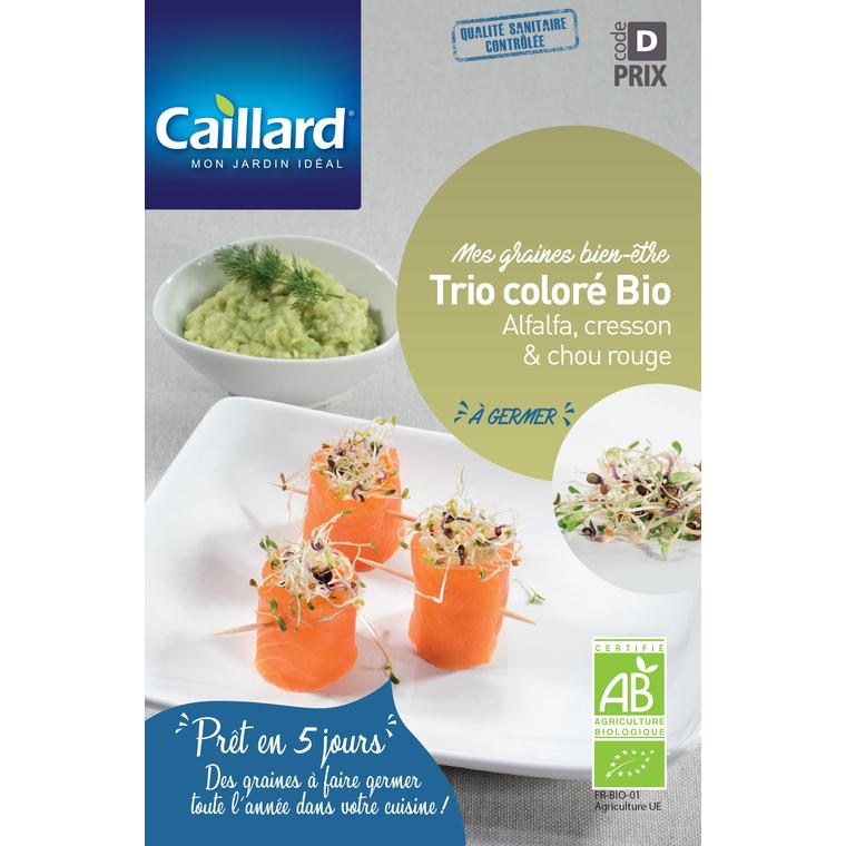 Graines à germer Trio coloré en sachet de 40gr 419381