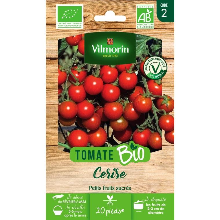 Graines de Tomate cerise bio en sachet 419485