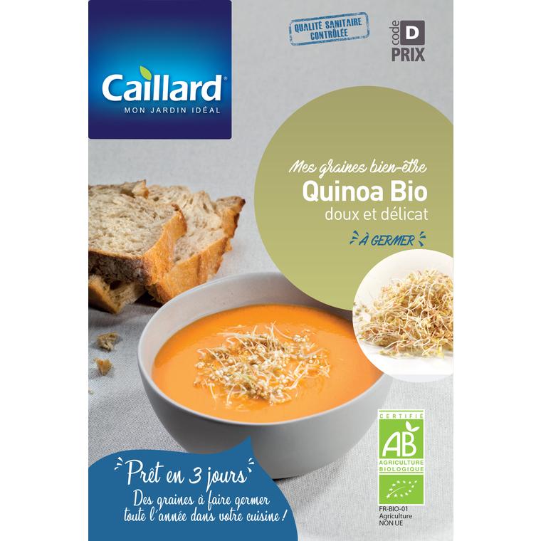Graines de Quinoa bio à germer en sachet de 80gr 420548