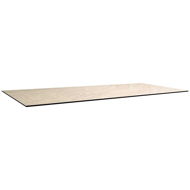 Plateau fin HPL gris sahara de 160 x 90 x 1,3 cm 421252