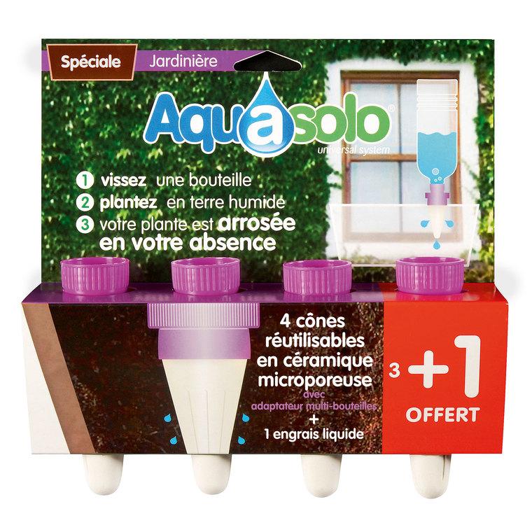 Aquasolo jardinière x4 42610