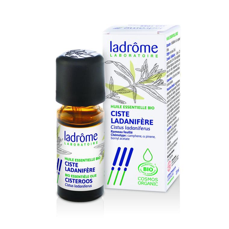 Huile essentielle bio de Ciste ladanifère Ladrôme - 10 ml 43313