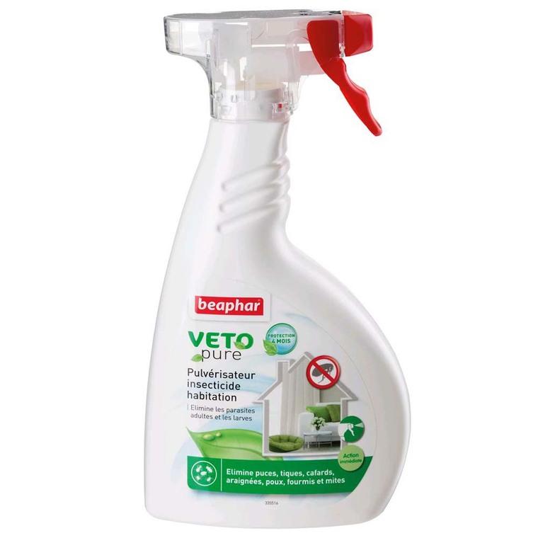 Pulverisateur insecticide habitation Beaphar 500mL 440457