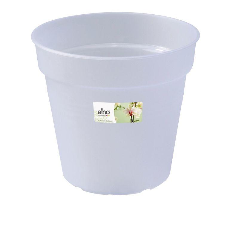 Pot D15 cm provence orchidées Elho transparent 446439