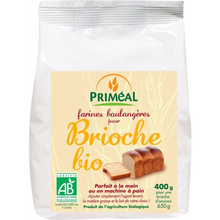Brioche Priméal 400 g PRIMEAL 44929