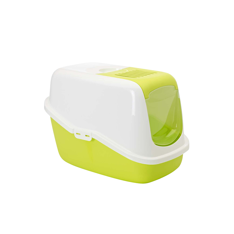 Maison de toilette Nestor Savic blanc/vert limon 45200