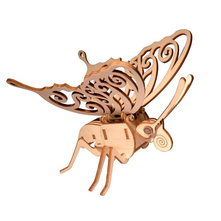 Kit Papillon bois solaire 46220