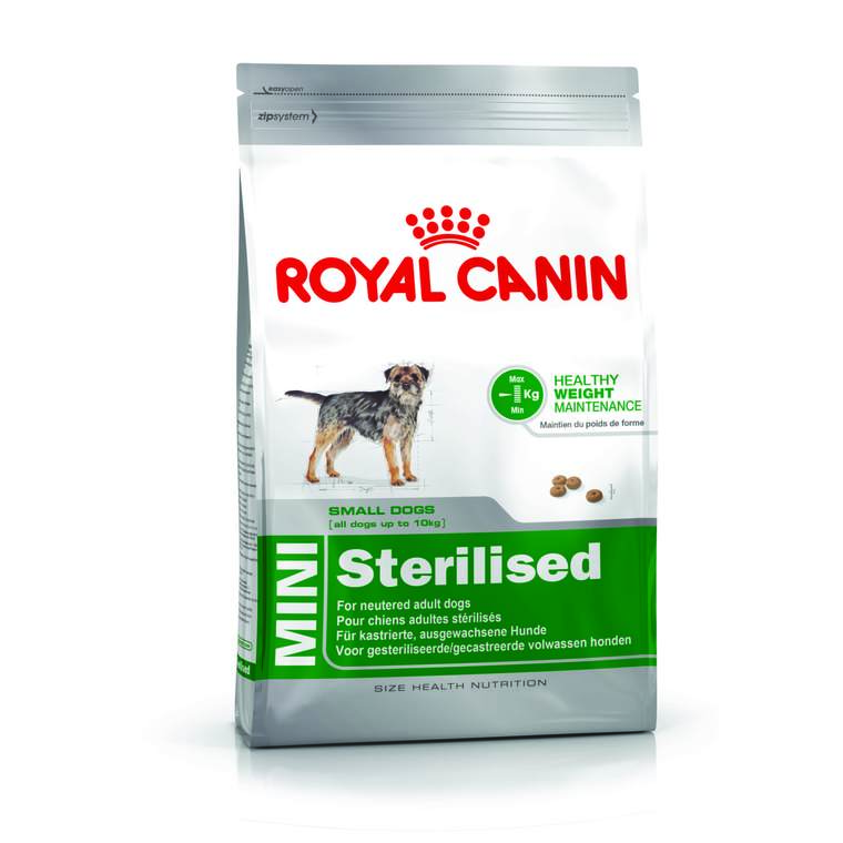 Croquettes Royal Canin Mini sterilised 4 kg 46388