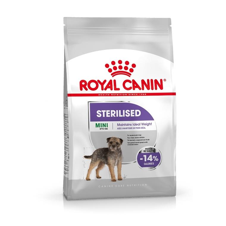 Croquettes Royal Canin Mini sterilised 8 kg 46389