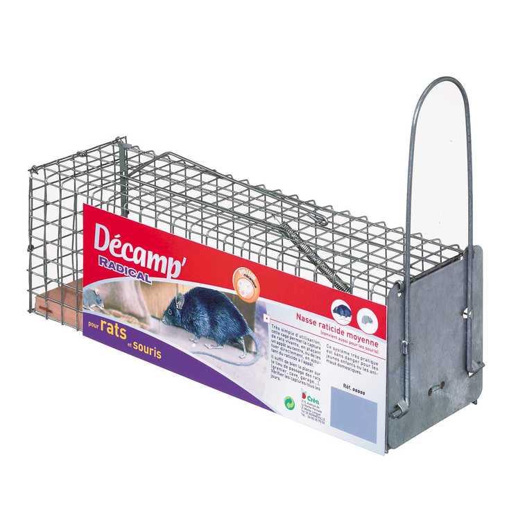 Nasse rats-souris mono-capture 466681