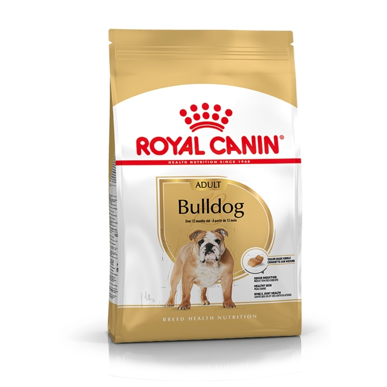 Croquette 3kg Bulldog anglais adulte Royal Canin 467068