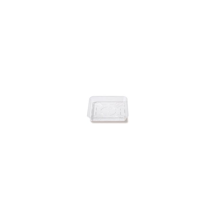 Soucoupe carrée 17 cm transparente ELHO 480956
