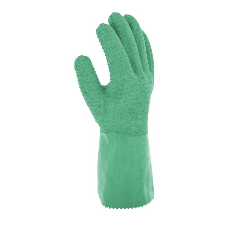 Gant roncier en latex coloris vert clair de taille 10 481708
