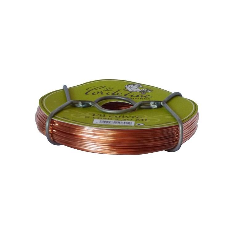 Bobinot fil cuivre – 1 mm 30m 482256
