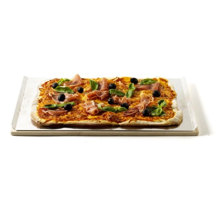 Pierre à pizza : barbecue à gaz Weber 497944
