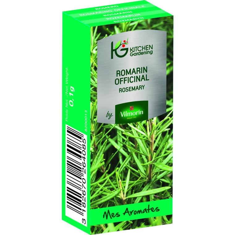 Graines de Romarin officinal bio en boite dose