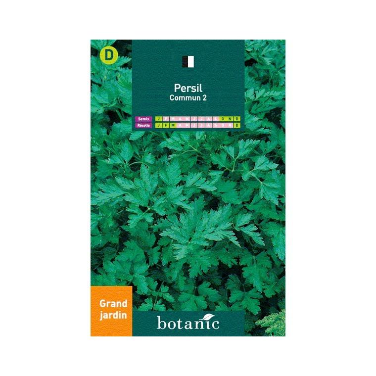 Persil commun grand jardin graines aromatiques potager for Entretien jardin du souvenir