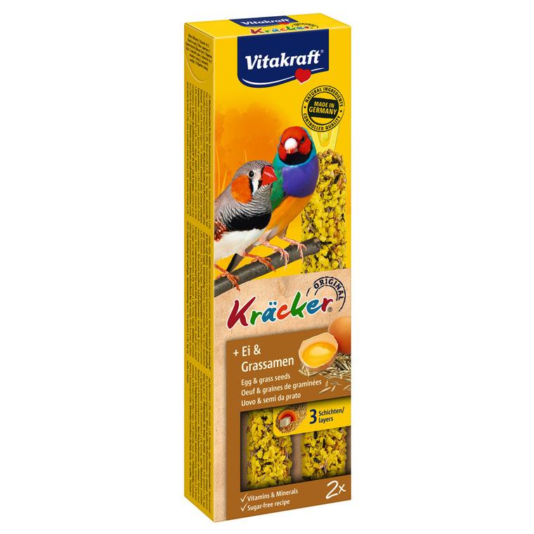 Kräcker Oiseaux x2 oeufs Vitakraft 59g - pour oiseaux exotiques