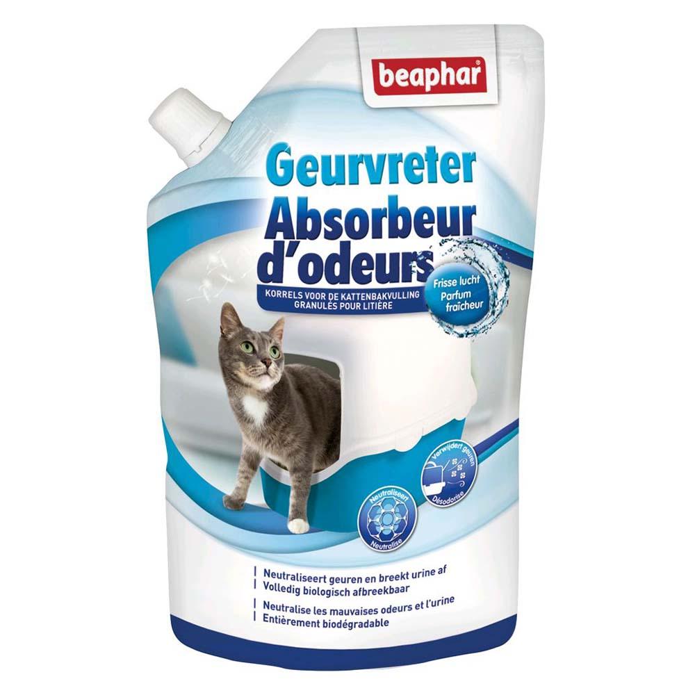 Absorbeur d odeurs pour liti res beaphar bacs et accessoires liti re chat animalerie botanic - Absorbeur d odeur ...