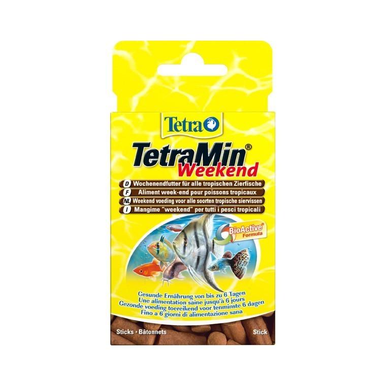Alimentation Tetramin weekend