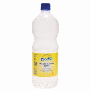 Vinaigre d'alcool blanc 12% acidité Ecodoo 1 l