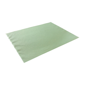 Lot de 6 sets de table en textilène coloris amande pour l'extérieur 501738