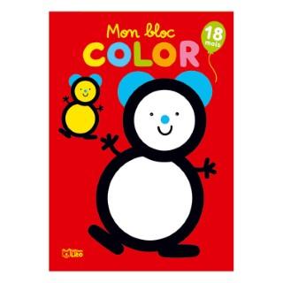 18 mois L'ourson Bloc Color 18 mois Éditions Lito 504707