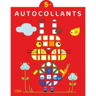 5 ans Le Lapin Autocollants Mosaïques 5 ans Éditions Lito 504741