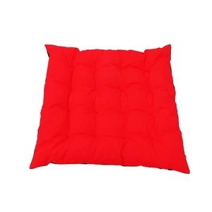 Assise futon carrée 16 Cap Colors Carmin en polycoton 504842