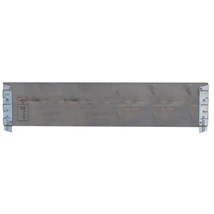 Planche pour potager modulable en bois gris 120 cm 505019