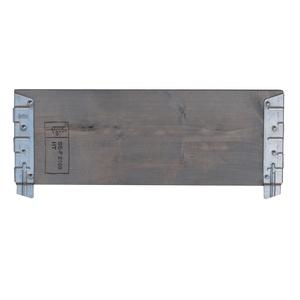 Planche pour potager modulable en bois gris 60 cm 505021