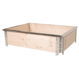 Cadre anti limaces en métal pour potager modulable 80x60 cm 505048