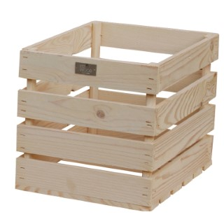 Caisse en bois 35x26x26 cm 505056