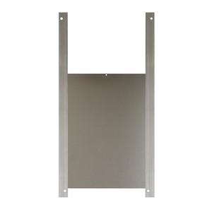 Trappe pour poulailler grise 22 x 32 cm 505976